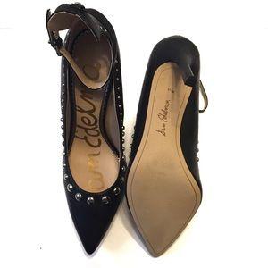Sam Edelman Shoes - Sam Edelman Helen Ankle Strap Pump Size 9.5